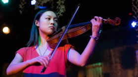 Composer & Violinist Christabel Lin.